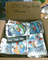 Picture of a box of Capri Sun Juice pouches
