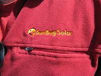 SunBug Solar logo on jacket