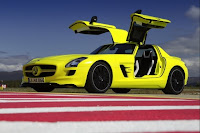 Photo of Mercedes Benz all electric super car