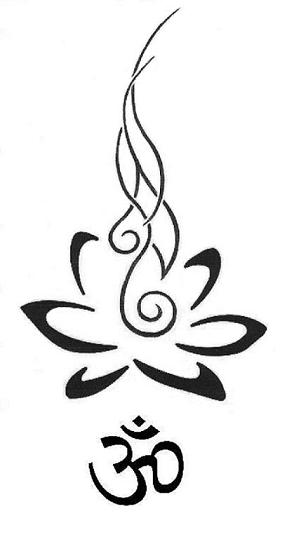 tribal Om leg tattoo om tattos. Reiki tattoos search results from Google