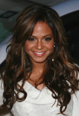 best christina milian long hair styles