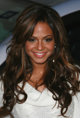 Christina Milian Long Hair Styles
