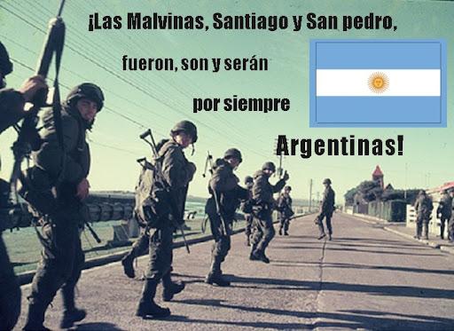¡¡¡LAS MALVINAS FUERON, SON Y SERÁN ARGENTINAS!!!