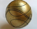 black and gold easter egg -$15-