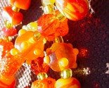 Glass Bead Sunswag - Orange Juice on Ice -$16-