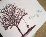 Missing You Card -$2.50-