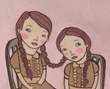 Sisters MATTED 5x7 print -$14-