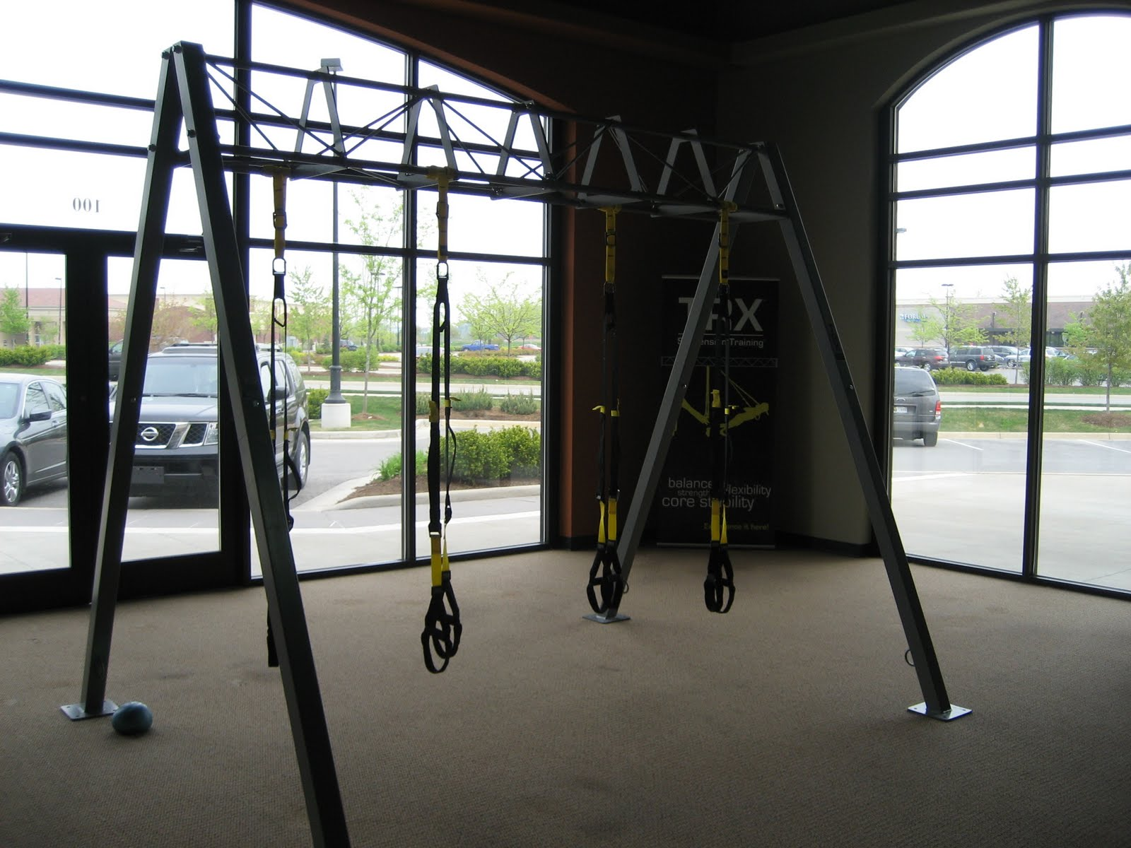 Anytime Fitness of Noblesville, IN: Behold...The 10 ft S-Frame