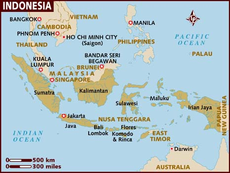 Maps Of Indonesia Islands Free Printable Maps