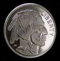 Buffalo Silver bullion round coins