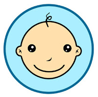 Cartoon baby clip art pic
