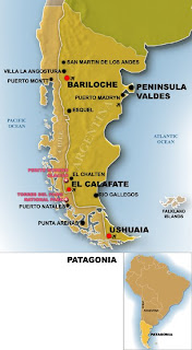 Patagonia Map Free Printable Maps