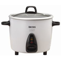 Aroma ARC-737G 7 Cup Pot-Style Rice Cooker and Steamer