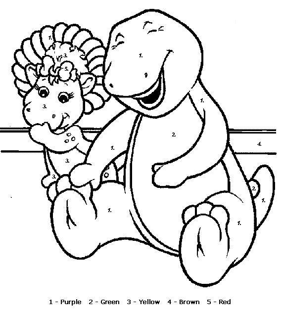 Color by Numbers - Animal Coloring Pages for Kids (part II) title=