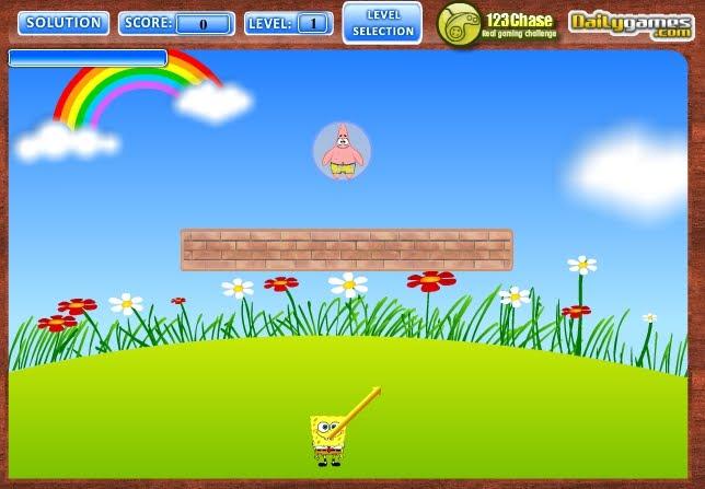 Игры губка боб sponge bob