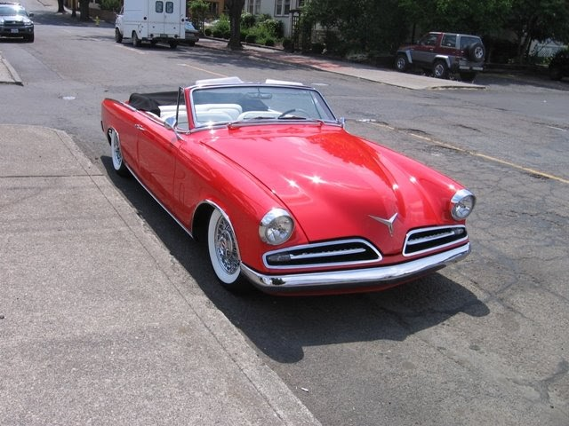 Autotour 1953 studebaker commander convertible - 1953 studebaker champion starlight coupe ...