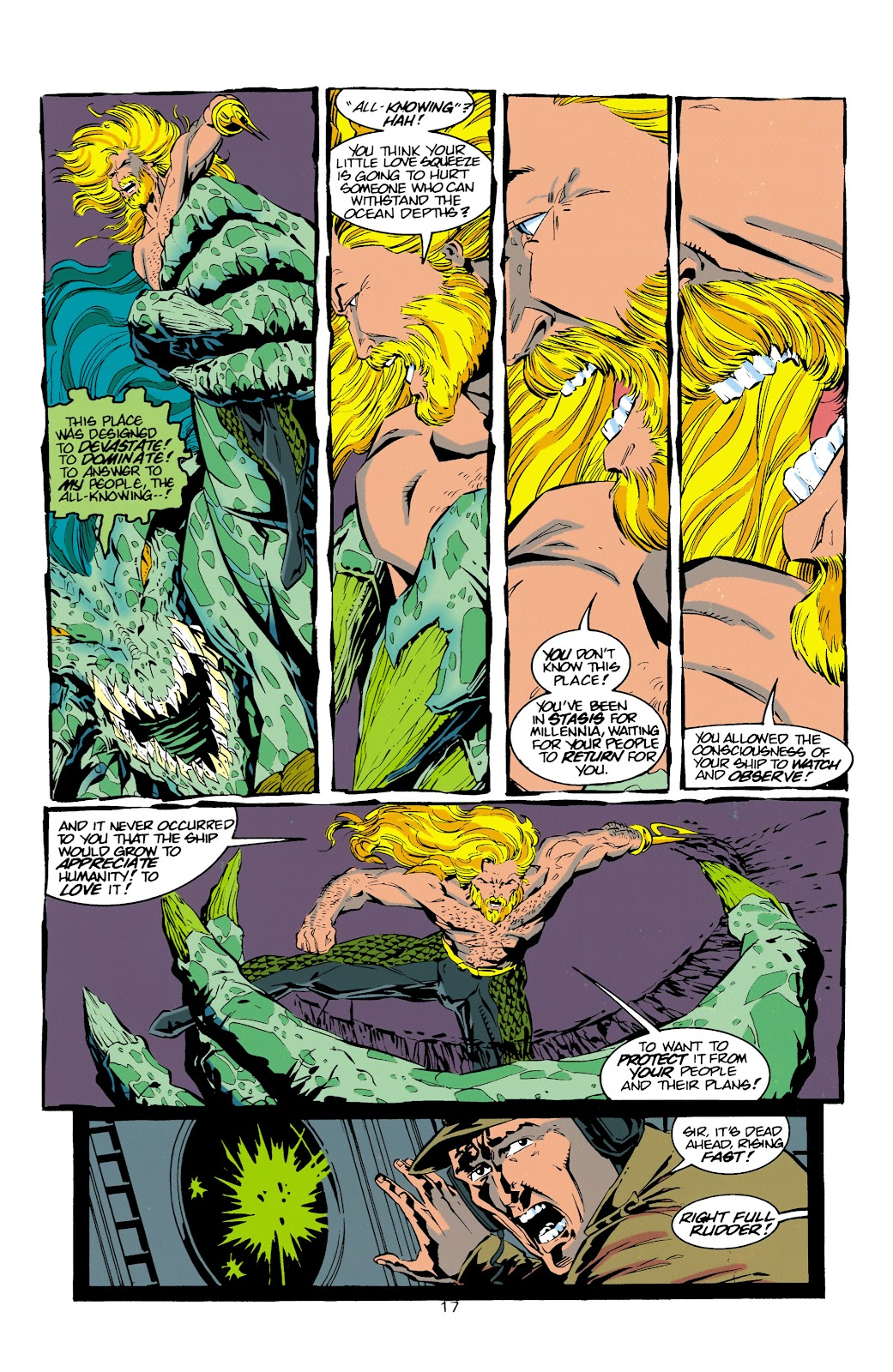 Aquaman (1994) Issue #15 #21 - English 17