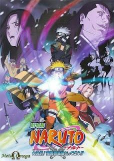 Naruto Filme 1 - A Grande Missão!Salvar a Princesa da Neve