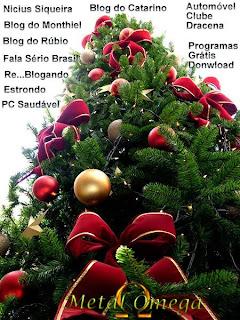 Árvore de Natal - Metal Ômega
