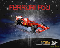 Wallpaper Ferrari F60 F1 2009 1280x1024