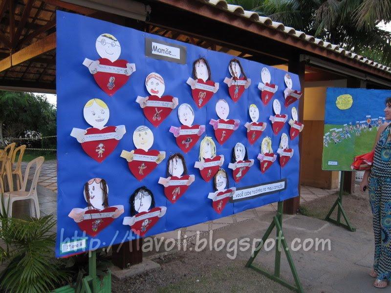 Blog Da Flavoli Dia Das Mães Na Escola