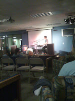 Nathan Angelo playing 'Ode to Her'
