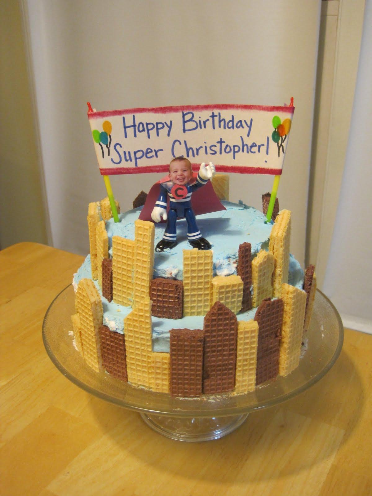 Superhero City Cake submited images