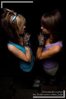 emo scene girls
