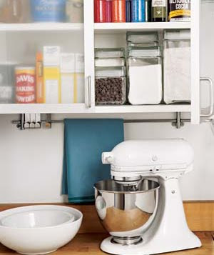 Decorating  Kitchen Cabinets on Small Kitchens Cannot Have Enough Hooks  Bars  Shelves   Any Device