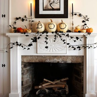 decorology autumn is here fireplace decorating ideas