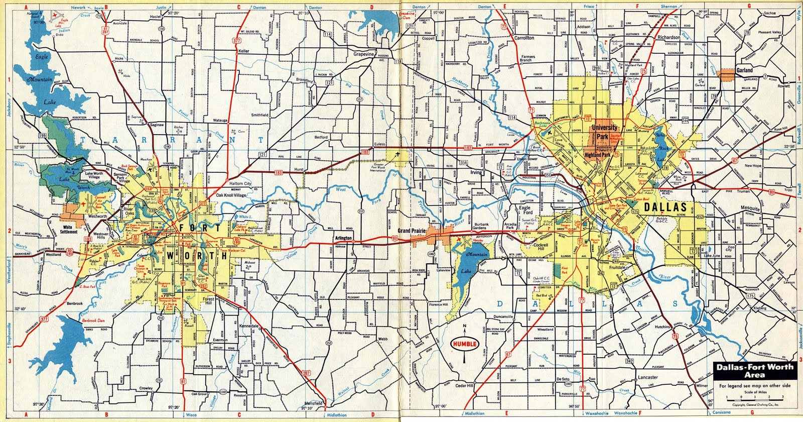 Dfw Maps
