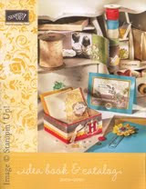 Stampin Up Idea Book & Catalog