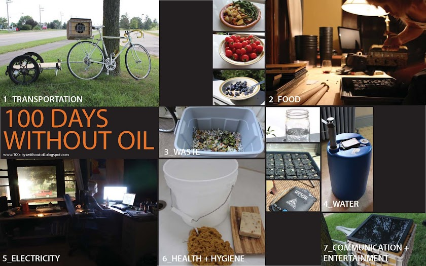 100 Days Without Oil