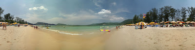 Bang Tao Beach 360 panorama; © Peter Watts, all rights reserved.