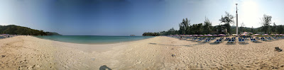 Kata Noi Beach 360 panorama; © Peter Watts, all rights reserved.