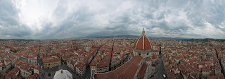360 panorama of Florence from Giotto's Campanile