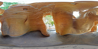 Inside Pestival's Termite Pavilion in London Zoo