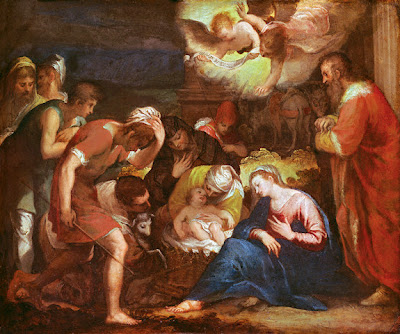 Nativity of Jesus Christ by Hans Rottenhammer