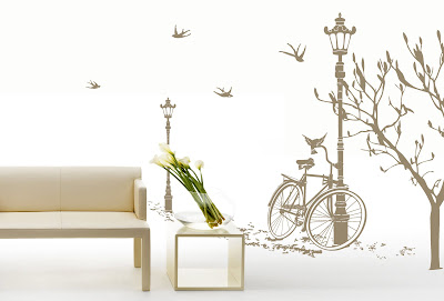 spring wall decals