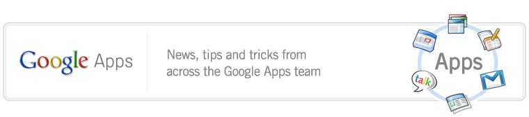 The Google Apps Blog