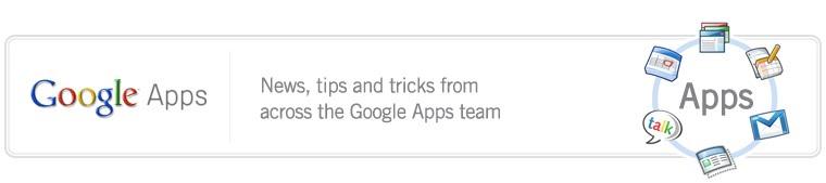 The Google Apps Blog