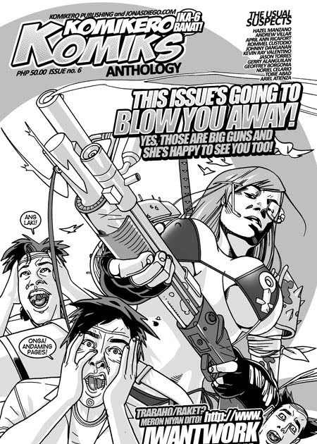 The Komikero Komiks Anthology KOMIKERO KOMIKS No 6