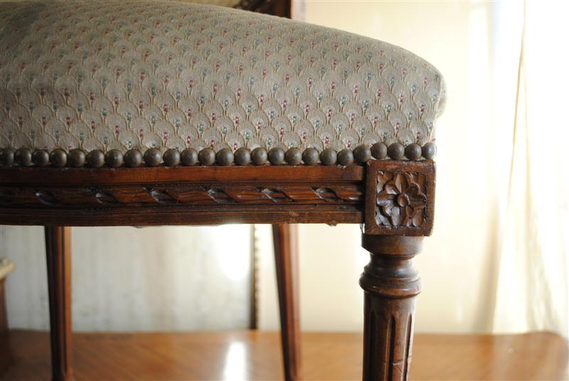 Luis xvi sillas luis xvi tapizado rombos - Sillas luis xvi modernas ...