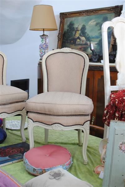 El Taller Deco Sillas De Dormitorio Luis Xv En Rosa