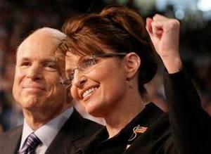 Senator John McCain and Governor Sarah Pallin
