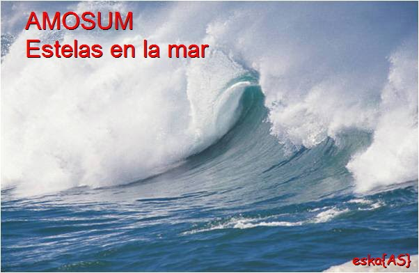 AMOSUM-Estelas en la mar