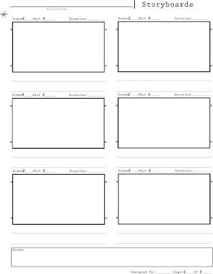 storyboard template pdf. Black Bedroom Furniture Sets. Home Design Ideas