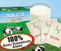 Susu Colostrum Murni