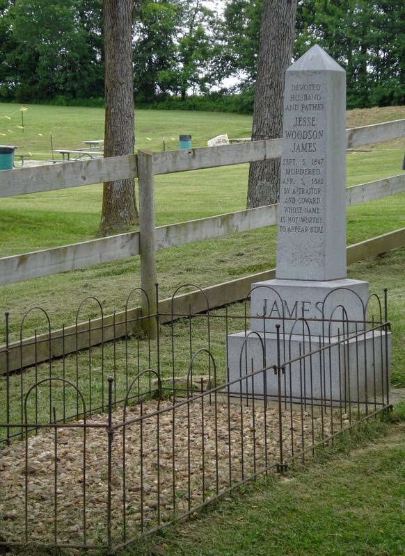 Jesse James Grave Exhumed