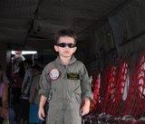 Meu netinho piloto lindão